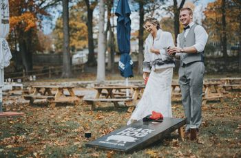 8 Wedding Lawn Games for Your Outdoor Event