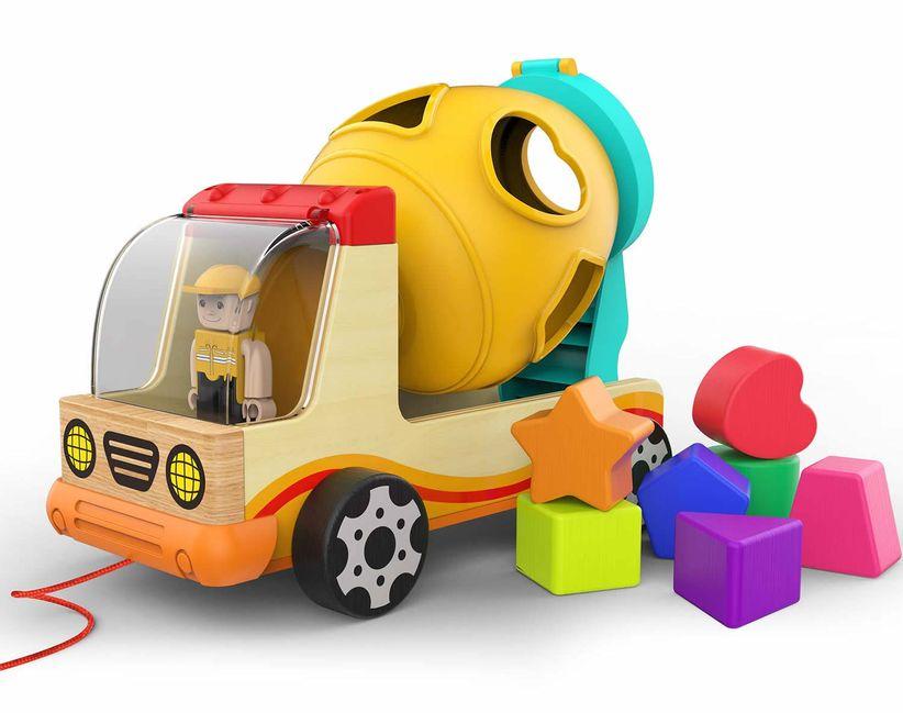truck shape sorter