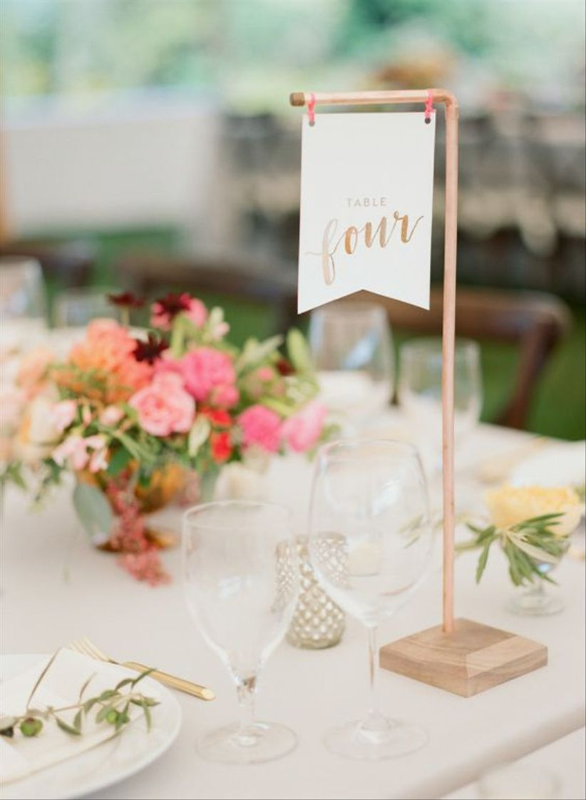 flag table number