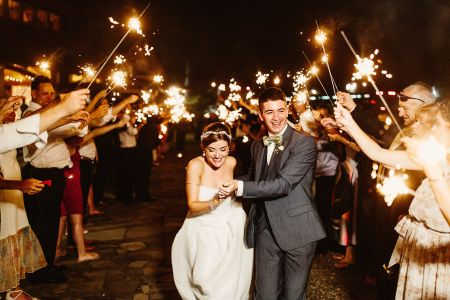 How to Create an Epic Wedding Send-Off