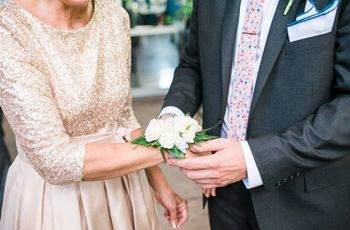 Who Wears a Corsage at a Wedding?