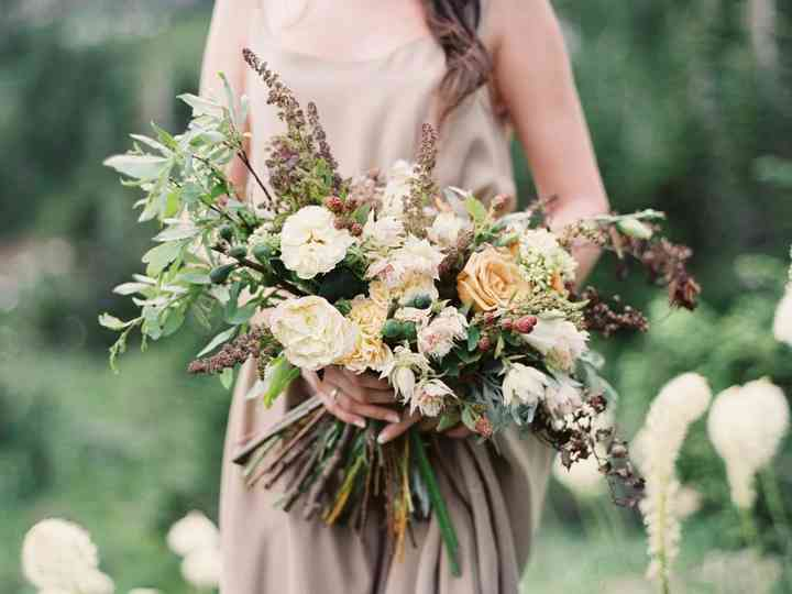 31 Fall Wedding Bouquets That Scream Autumn Weddingwire