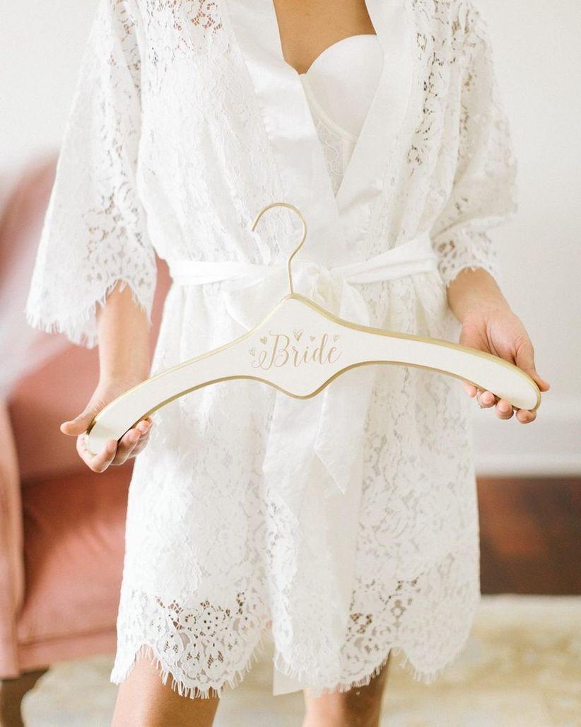 Wedding Dress Hanger.20 Wedding Dress Hangers To Showcase Your Gown Weddingwire