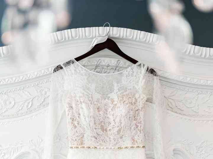 20 Wedding Dress Hangers To Showcase Your Gown Weddingwire