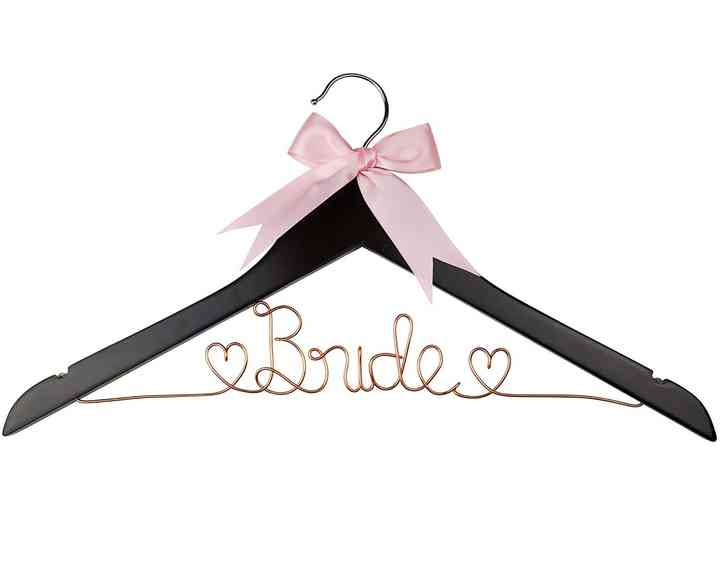 Dawn/'s Craft Store Personalized Bridal Hanger for Wedding Dress