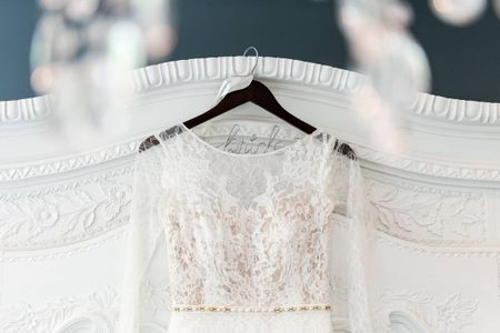 20 Wedding Dress Hangers to Showcase Your Gown