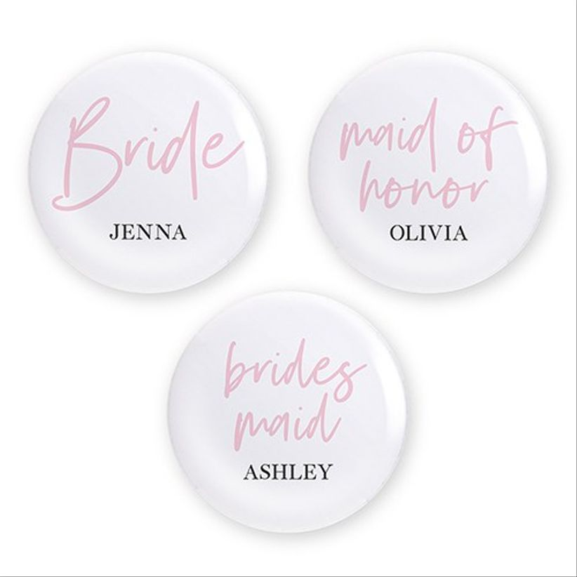 bridesmaid pins