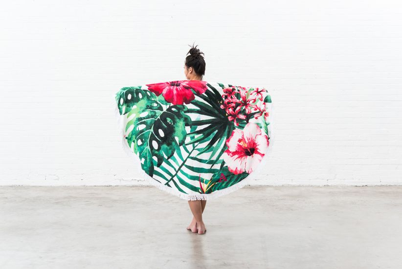 tropical beach towels