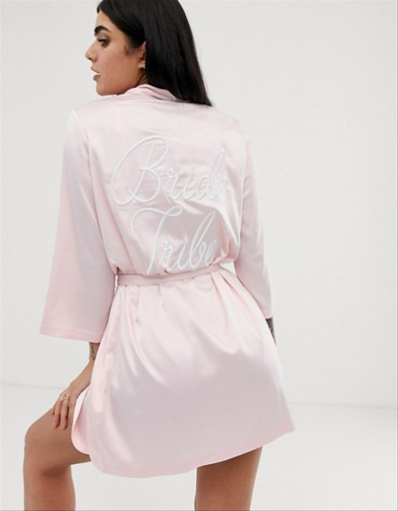 bride tribe asos robe
