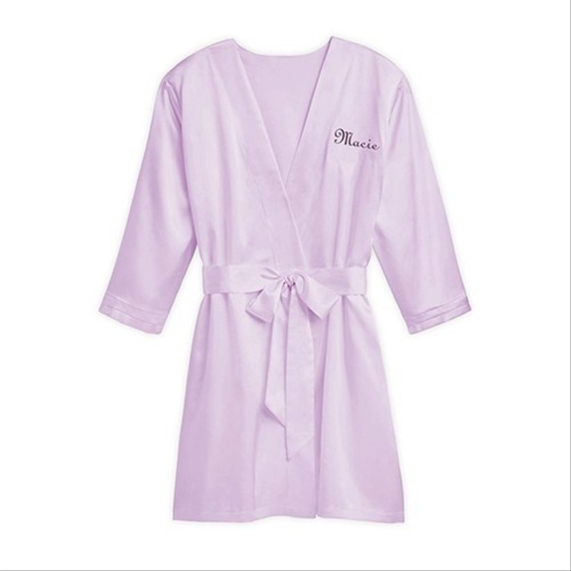 weddingwire shop lavender robe
