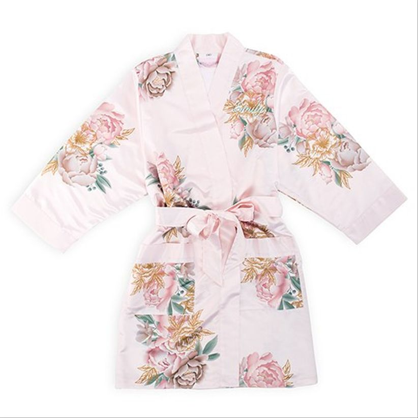 weddingwire floral robe