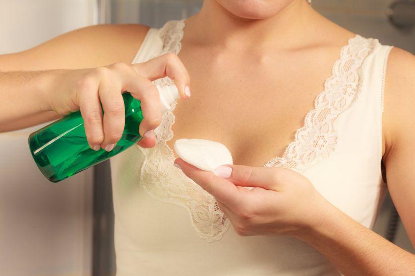 removing wedding makeup