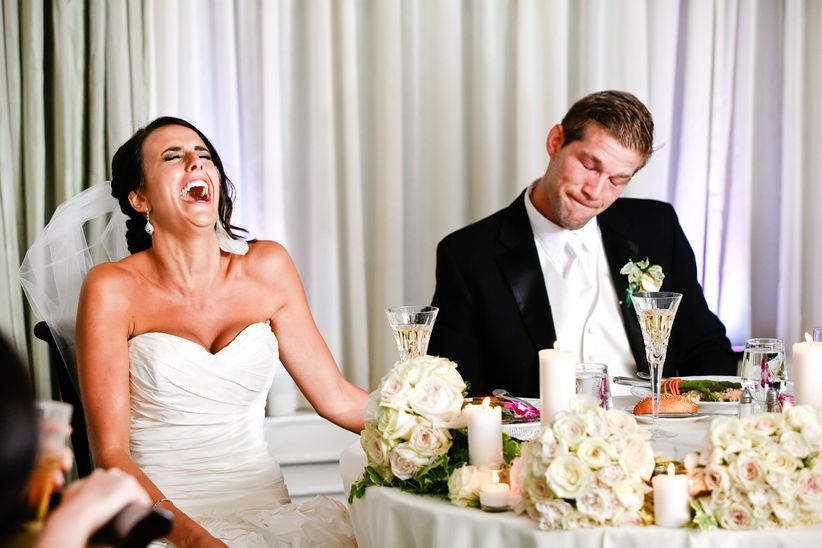 Bad Wedding Photos.How To Safeguard Your Reception From Bad Wedding Speeches Weddingwire