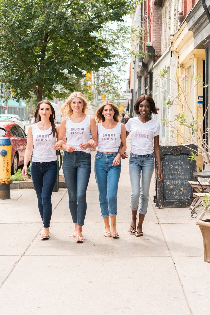 14 Bridal Party Tees Perfect For Squad Pics