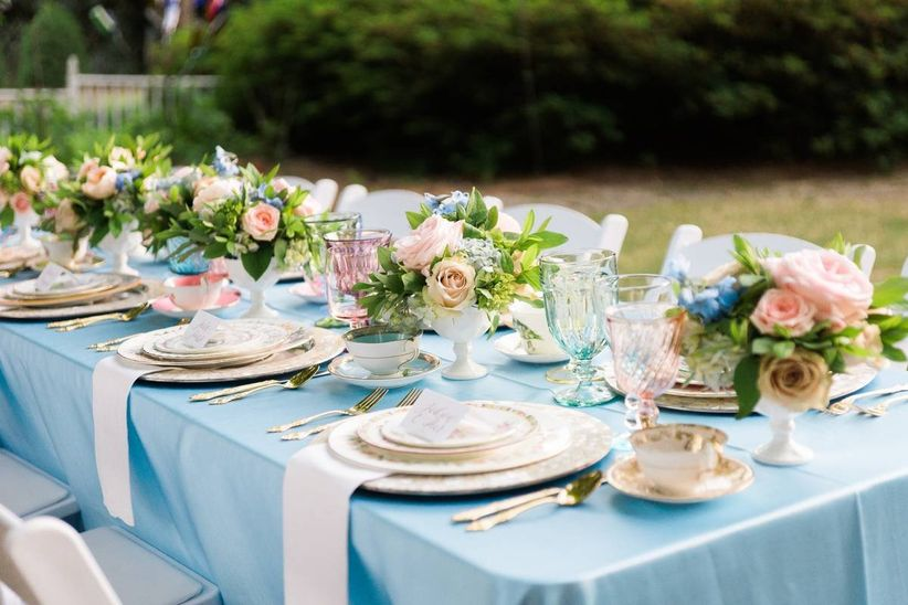 8 Steps To Hosting A Tea Party Bridal Shower Weddingwire
