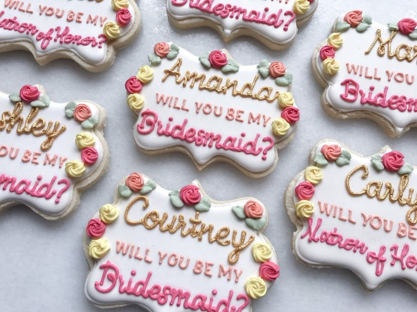 handmade cookies decorated with