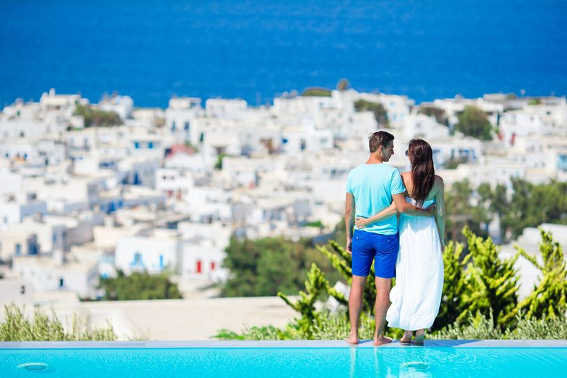 couple in greece