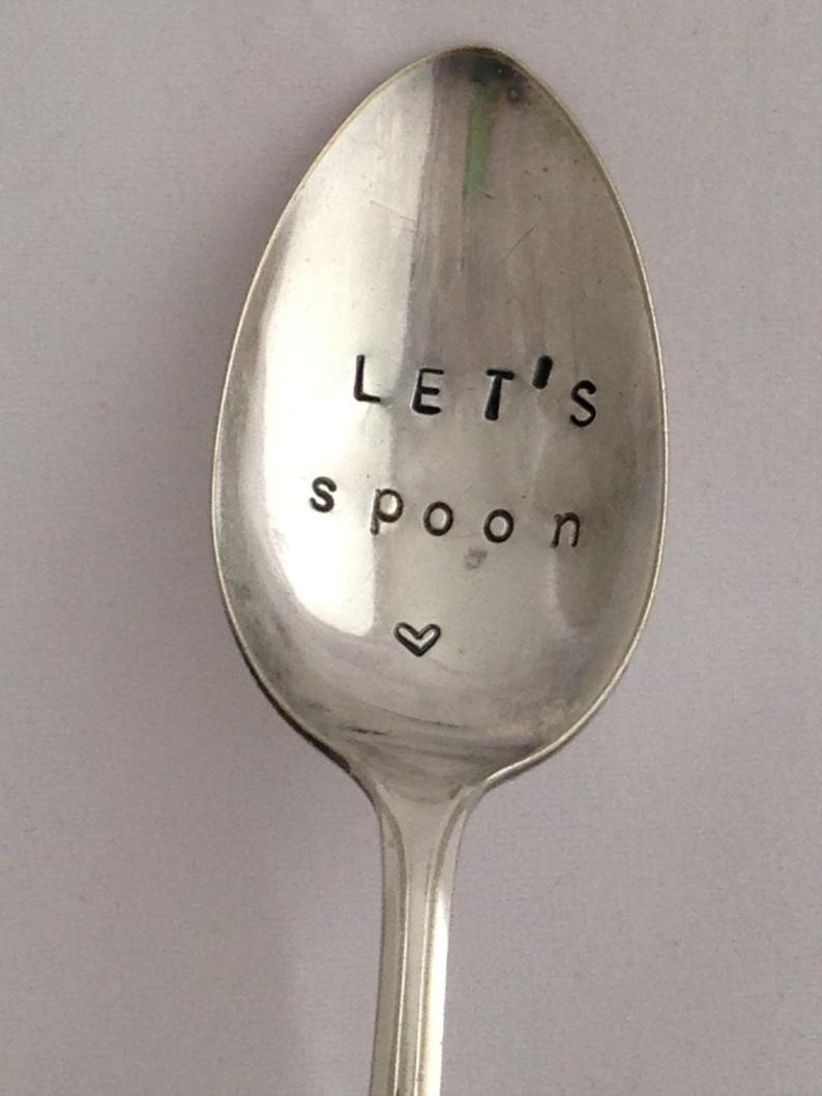 engraved spoons