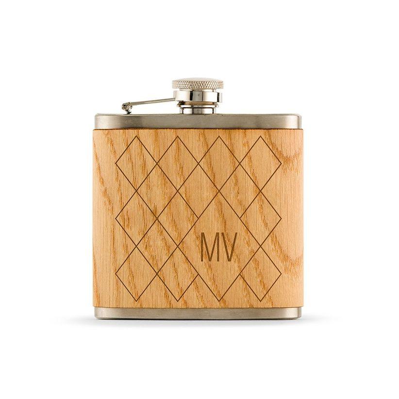 wood flask
