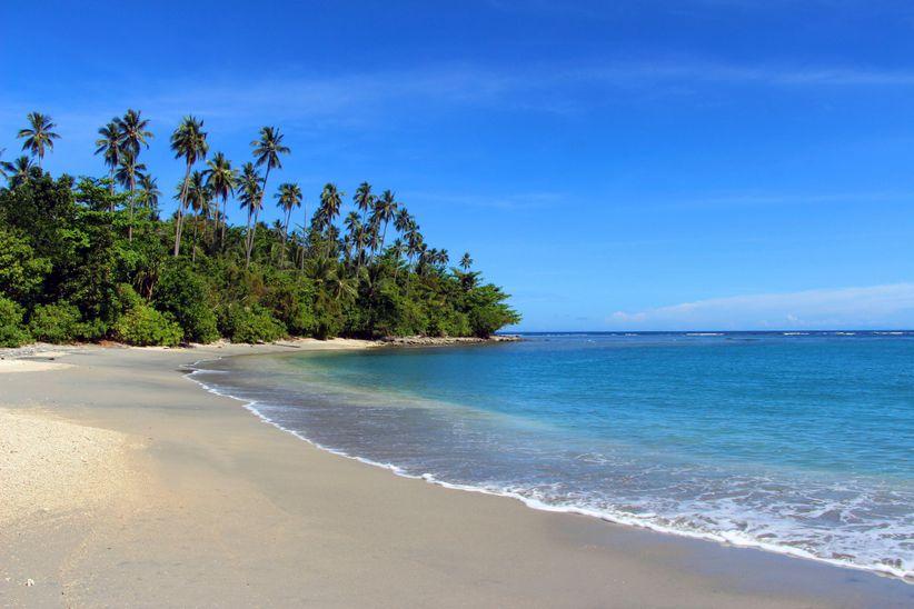 solomon islands beach