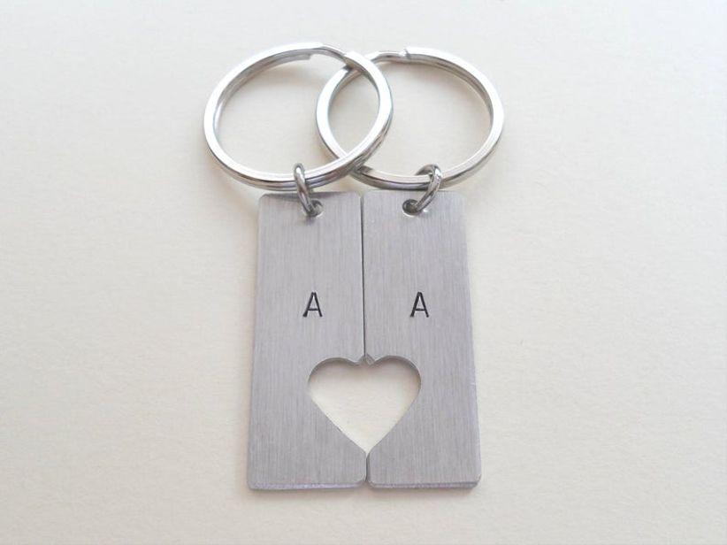 10 year anniversary gift metal bottle opener key chains