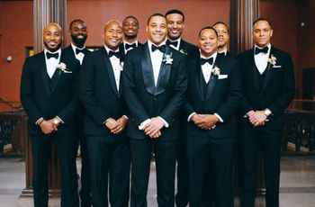 12 Formal and Black Tie Wedding Ideas for Grooms