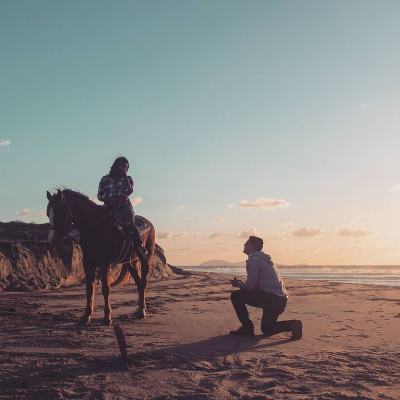 horseback ride proposal