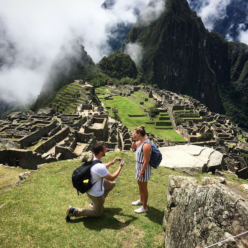 proposal at machu picchu