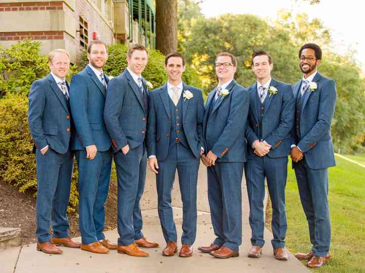 706cdfa4b 4 Ways Grooms Can Choose the Right Suit - WeddingWire