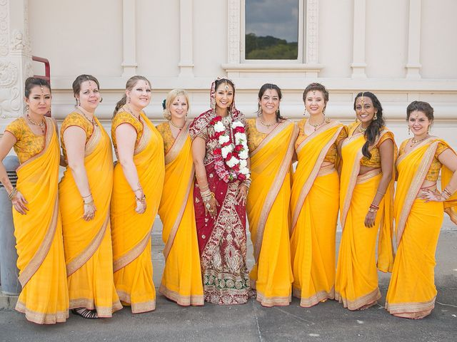 Indian Bridal Party Looks to Inspire Your Own Bride Tribe