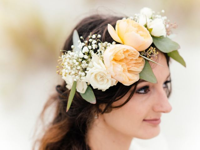 Our 16 Favorite Wedding Hairstyles with Flowers