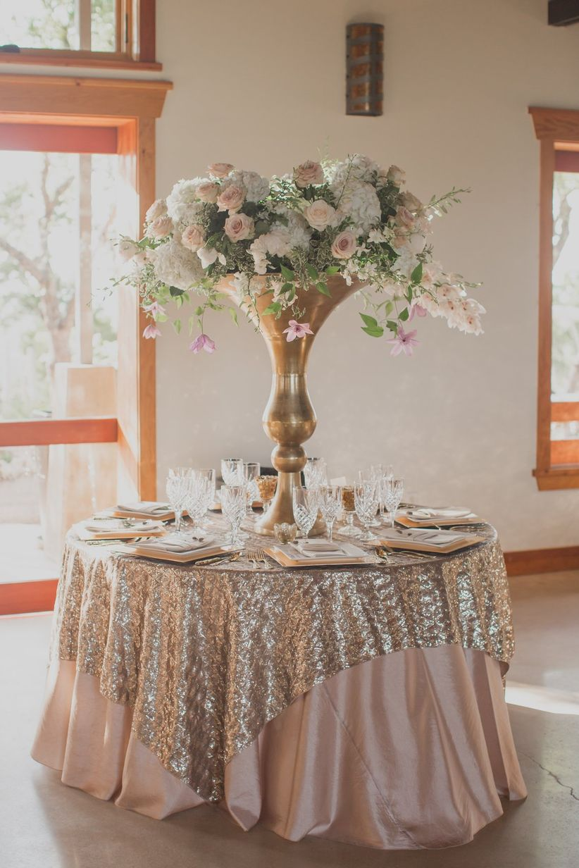 20 rose gold wedding ideas for the hopeless romantic for Rosegold dekoration