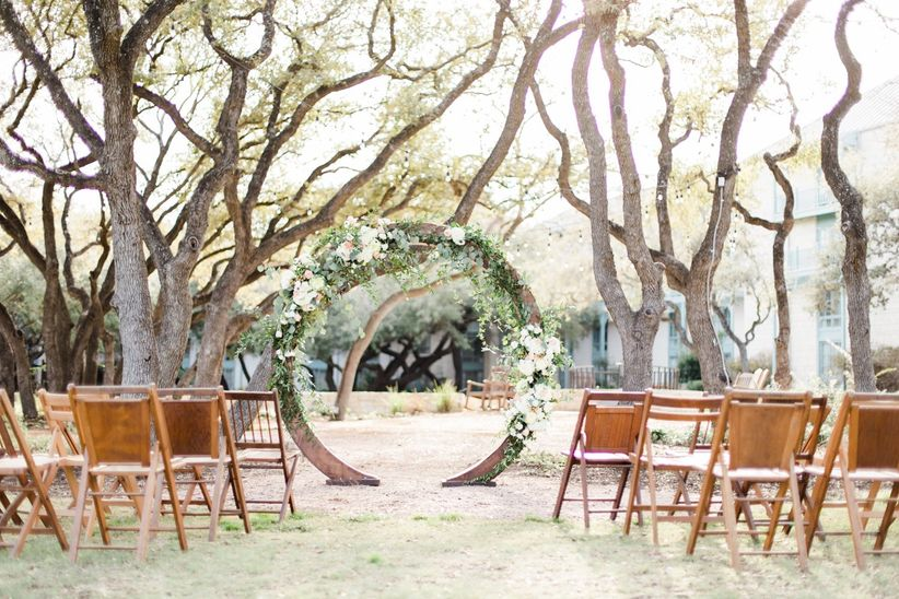 garden party wedding theme