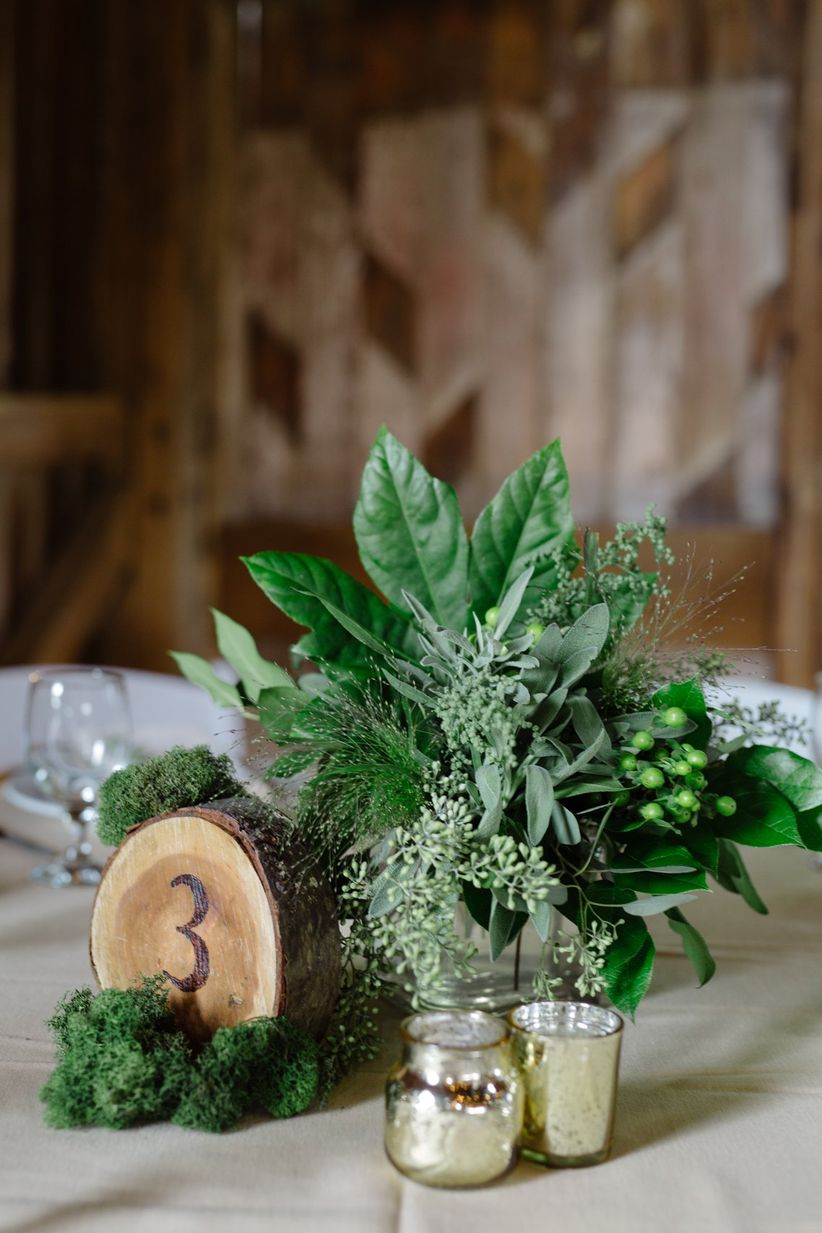 12 Ways To Decorate With Greenery Weddingwire
