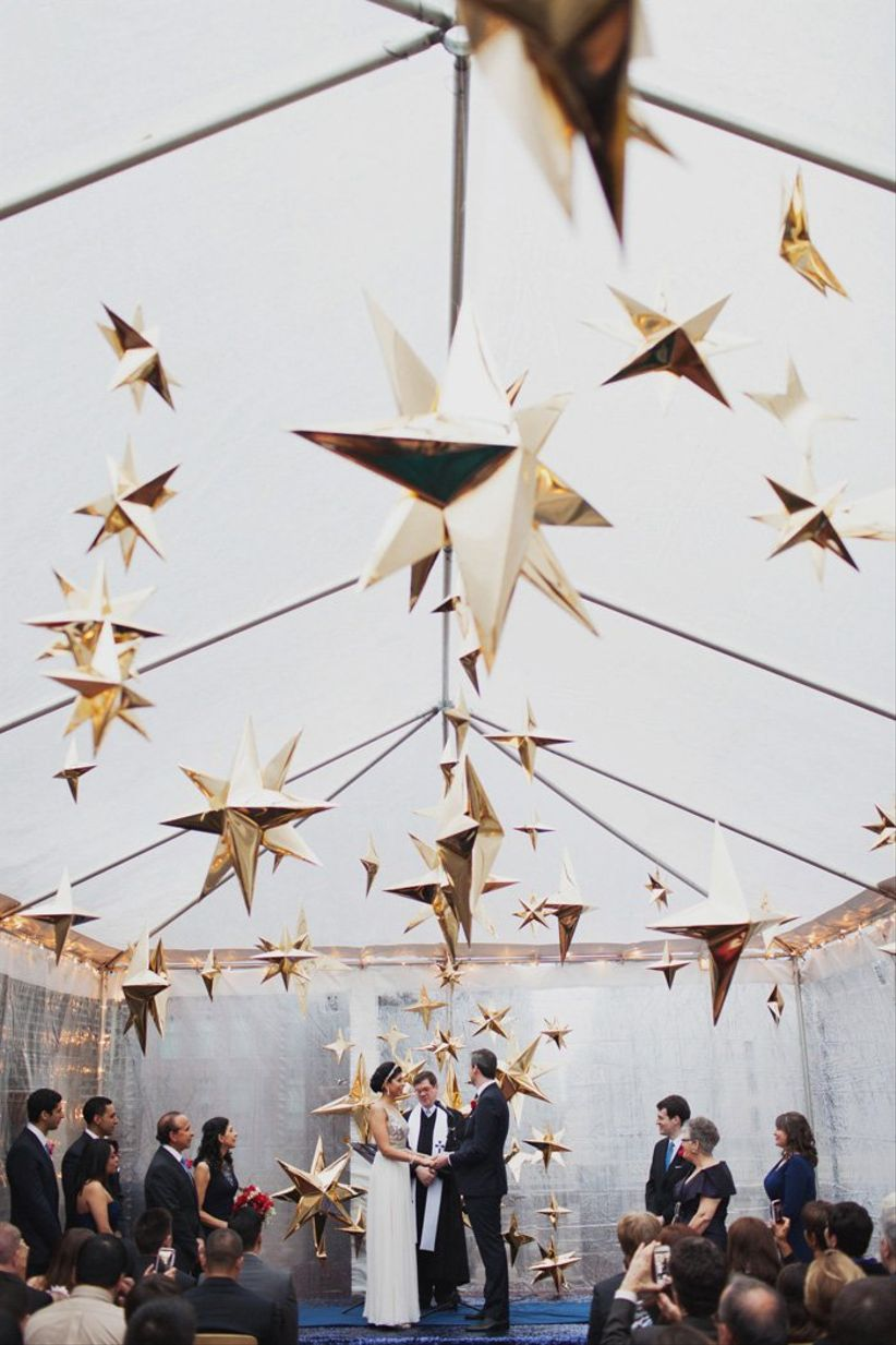 celestial wedding theme