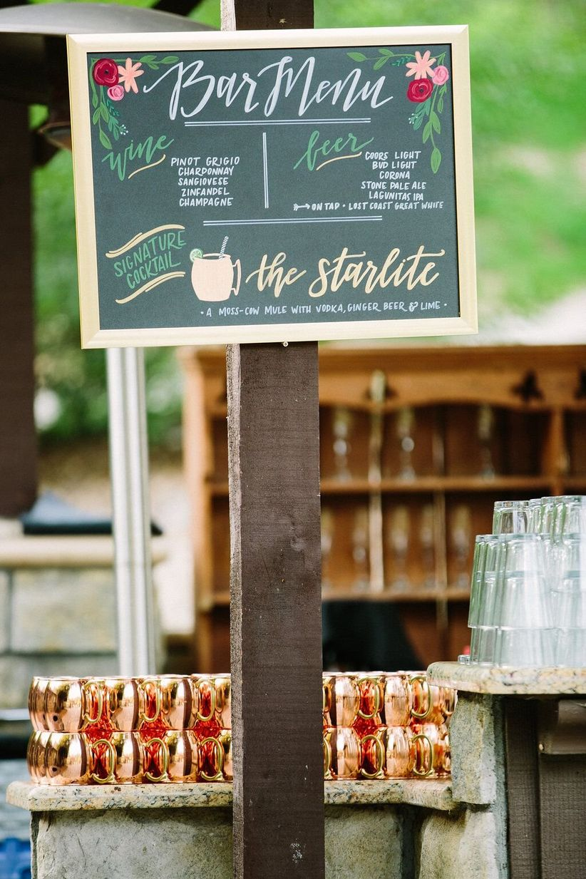 12 Clever Signature Cocktail Names - WeddingWire