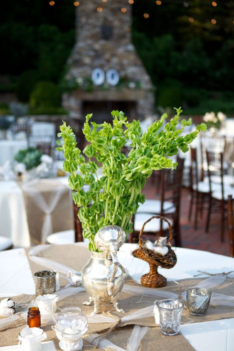 bells of ireland centerpiece