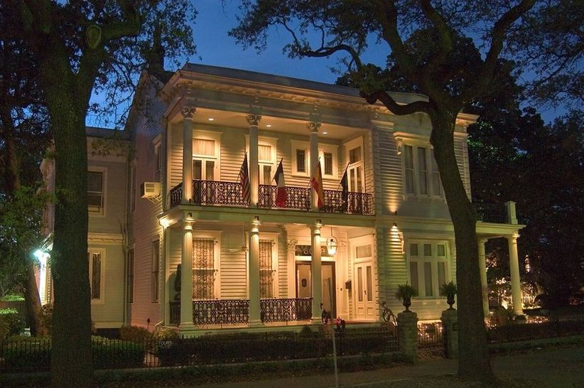 Elms Mansion Garden District wedding venue
