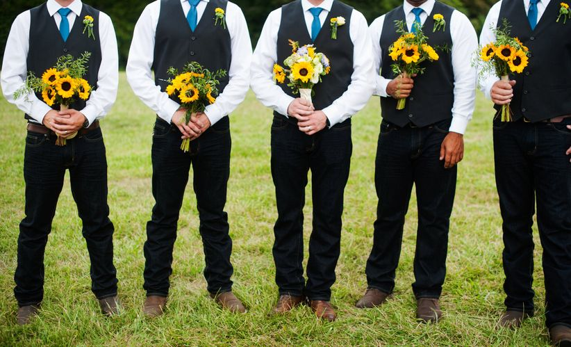 Rustic Attire for Grooms - WeddingWire