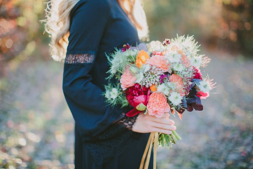 DIY bohemian bouquet