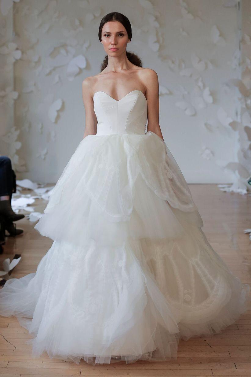 Colored Wedding Dresses Fall 2018
