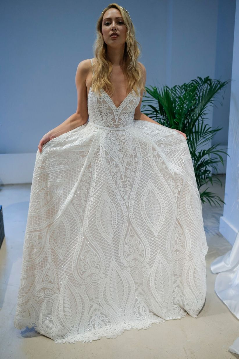 Dreamcatcher Details Are the New Boho Wedding Dress Trend - WeddingWire