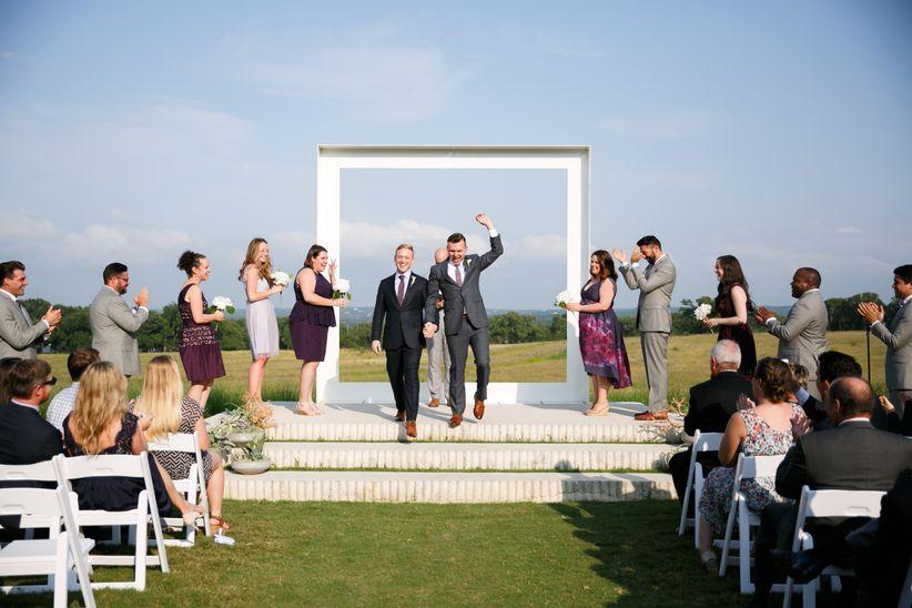 modern frame ceremony structure