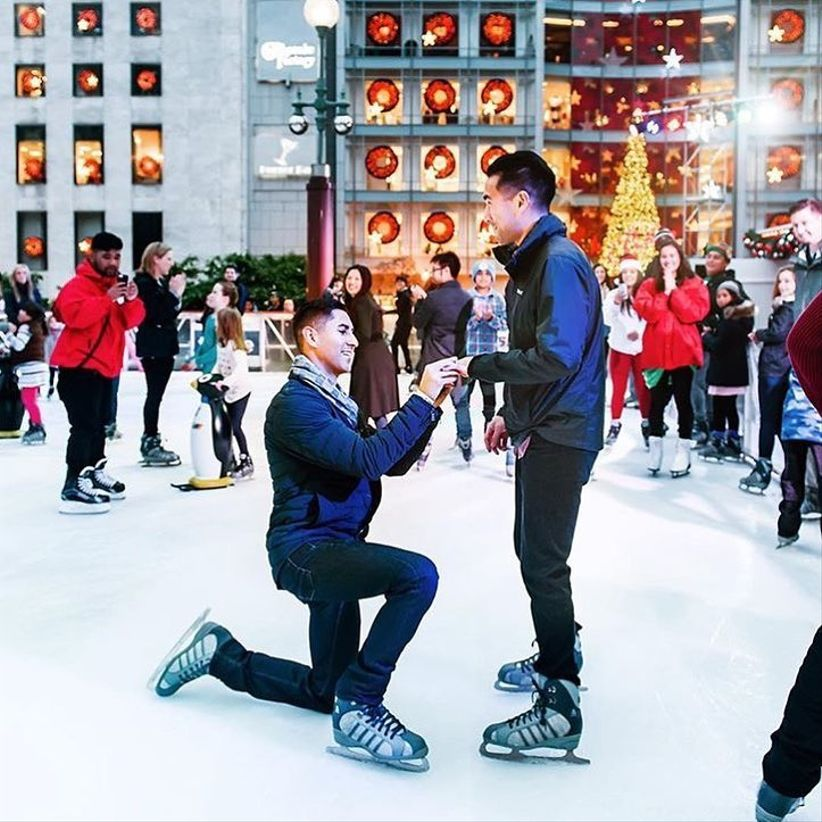 Rockefeller ice rink proposal NYC