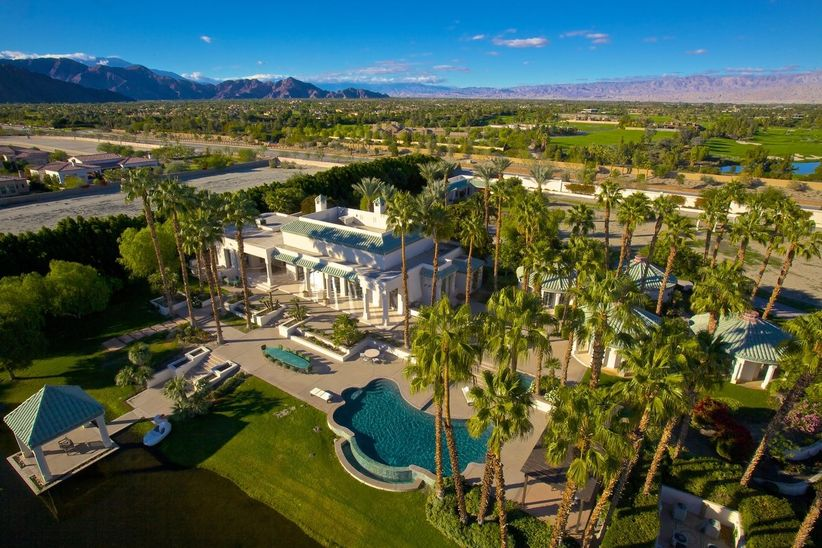 Palm Springs celebrity homes Merv Griffin Estate