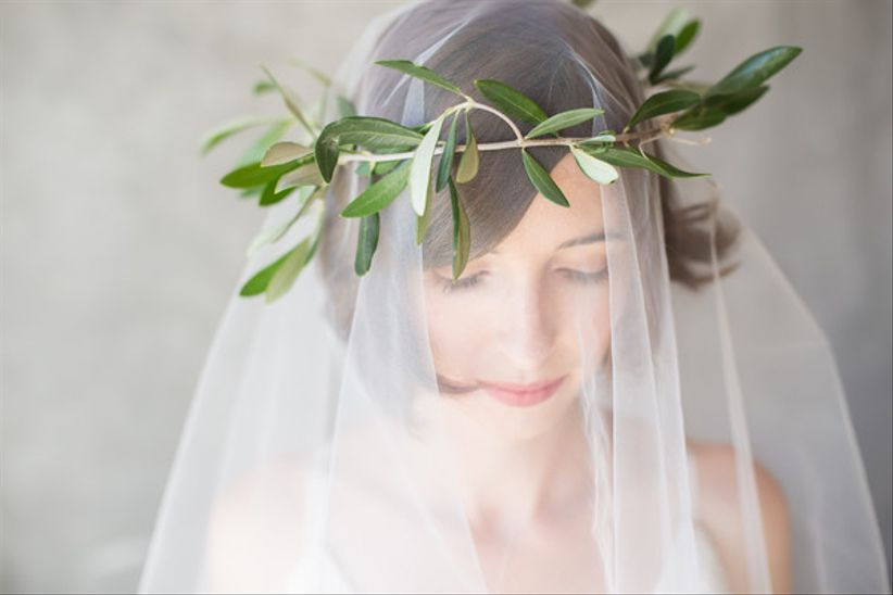 bohemian wedding veils