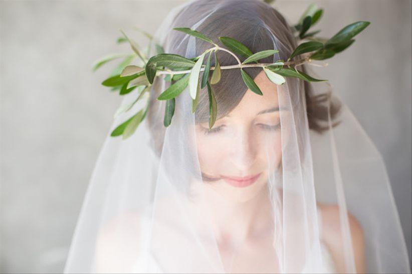 bohemian wedding veils