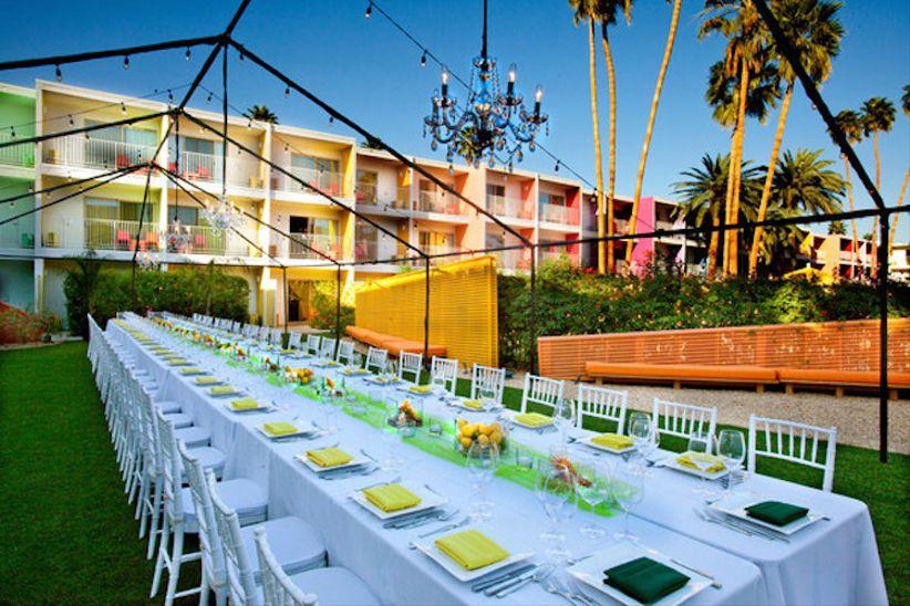 Desert Wedding Venues Palm Springs The Saguaro