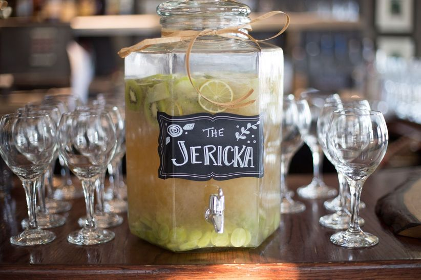 signature cocktail sign - abby hacker photography