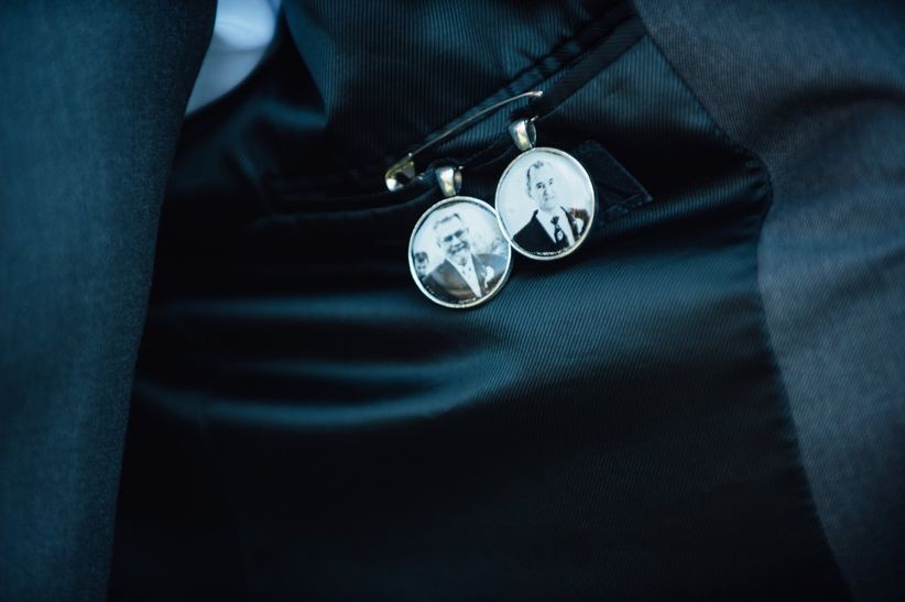 photo charms inside suit jacket - bradley images inc.